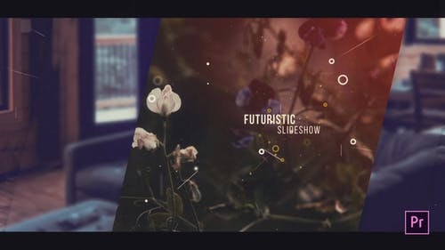 Futuristic Slideshow For Premiere Pro