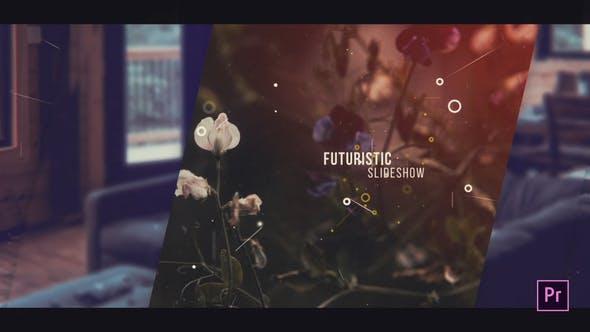 Thumbnail for Futuristic Slideshow For Premiere Pro