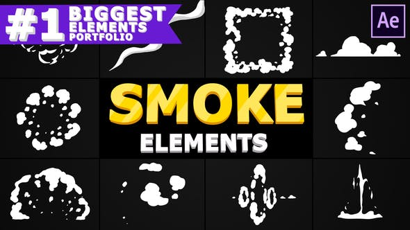 Thumbnail for Smoke Pack | After Effects