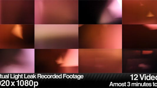 Thumbnail for Actual Light Leaks, Burns & Lens Flares (12-Pack)