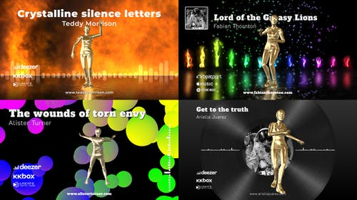 Dance Music Visualizer