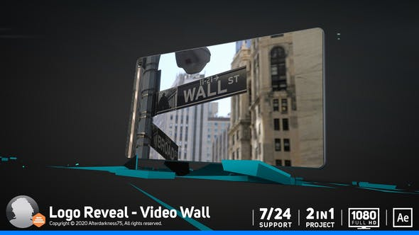 Thumbnail for Logo Reveal / Video Wall