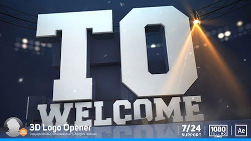 3D Logo Opener