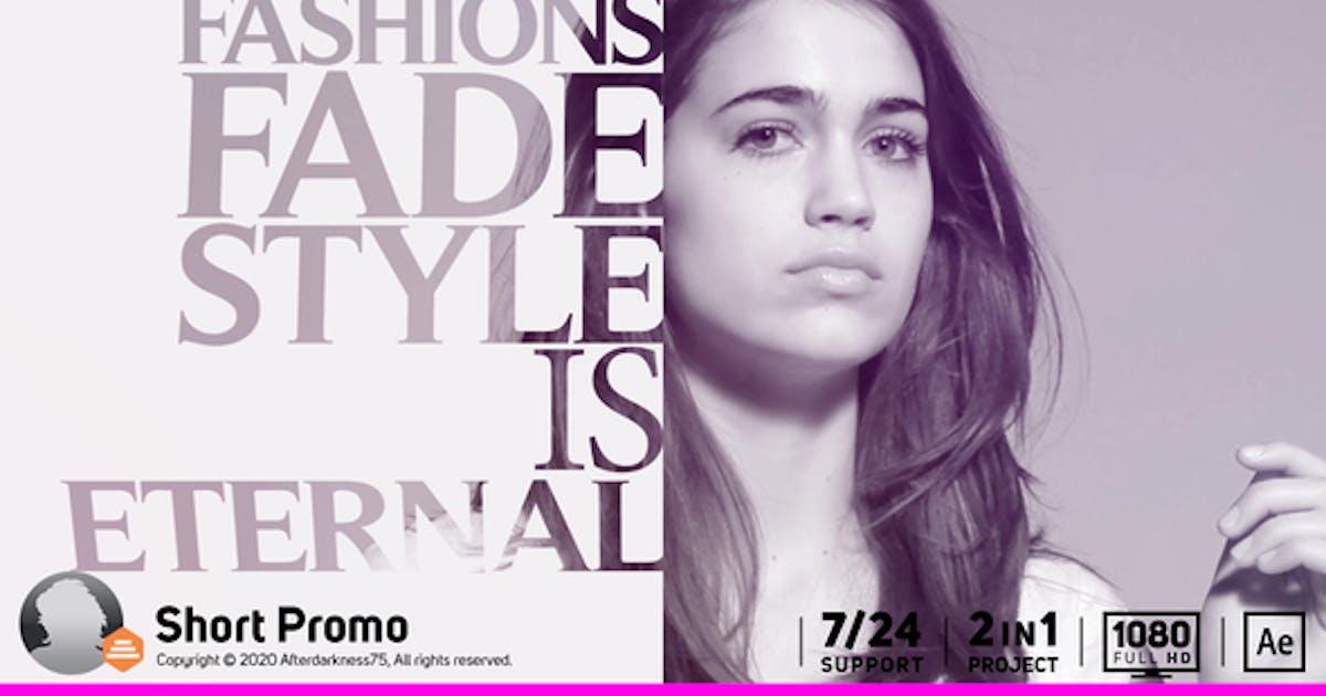 Short Typography Promo