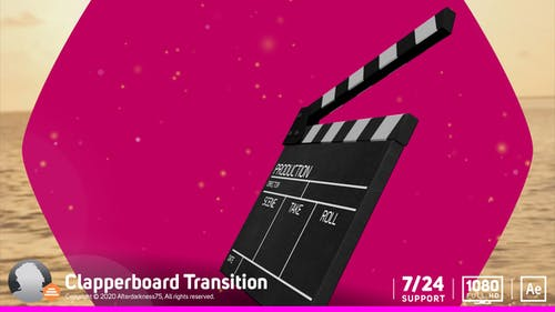 Transition Clapperboard