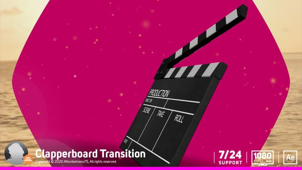 Thumbnail for Clapperboard de transition