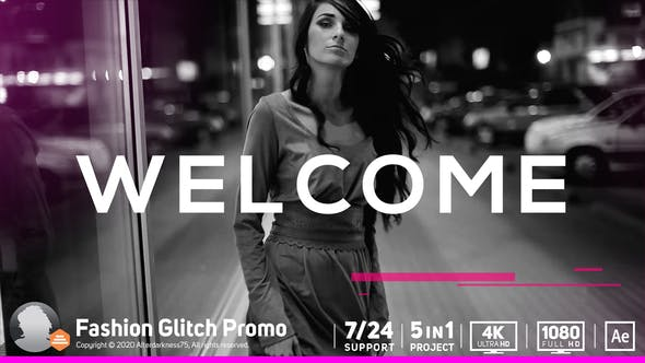 Fashion Glitch Promo