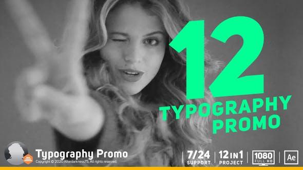 Thumbnail for Typography Promo / Stomp