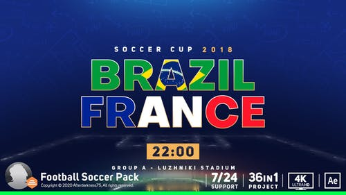 Football Soccer Cup Pack