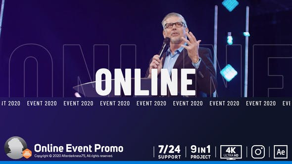 Thumbnail for Online Event Promo