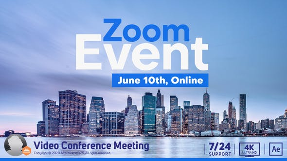Thumbnail for Video konferenz Online Zoom Meeting