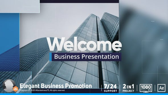 Thumbnail for Corporate Business Presentation