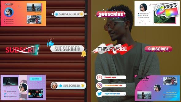 Thumbnail for Abonnés et écrans de fin | FCPX