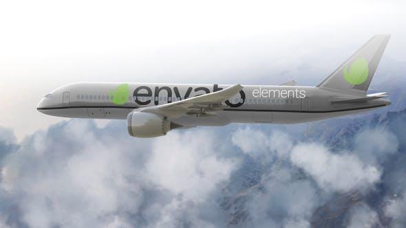 Logo del avión