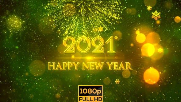 Happy New Year 2021 Green By Strokevorkz On Envato Elements