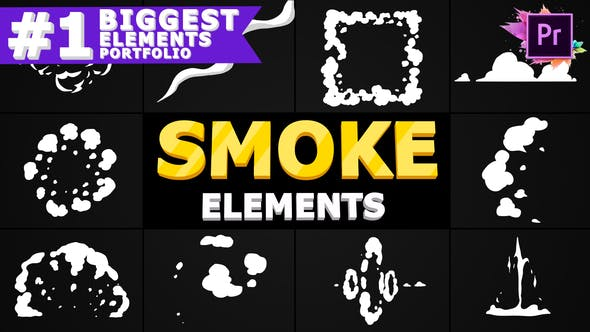 Thumbnail for Smoke Pack | Premiere Pro MOGRT