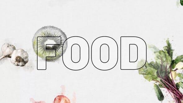 Thumbnail for Vegetarian Fresh Food Logo