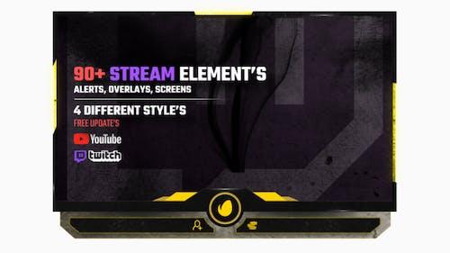 Stream Pack - Alerts, Overlays, Screens