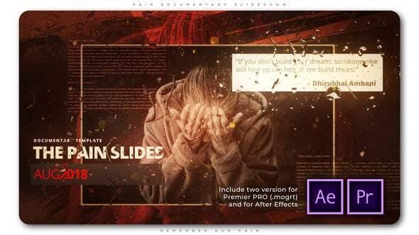 Thumbnail for Pain Documentary Slideshow