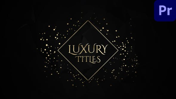 Thumbnail for Elegant Luxury Wedding Titles