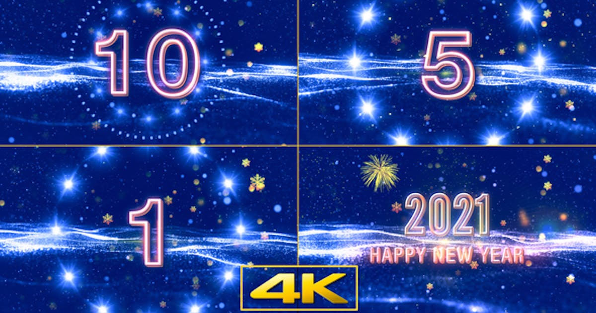 New Year Wishes 2021 with Countdown V3 by StrokeVorkz on ...