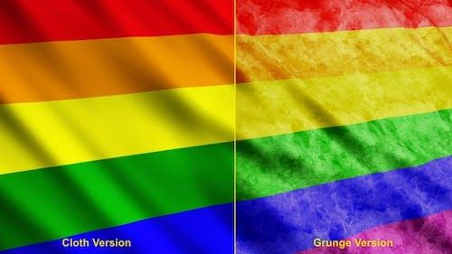 Gay Pride Rainbow Flags