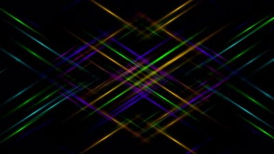Abstract light colorful