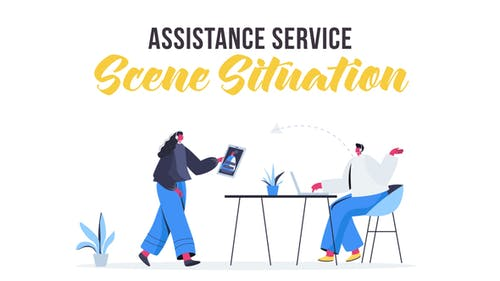 Assistance service - Scene Situation