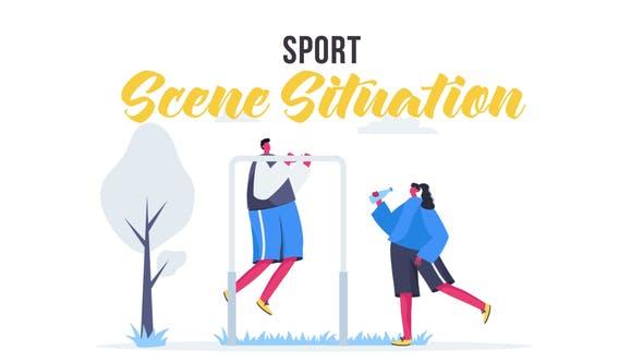 Thumbnail for Спорт - Сцена
