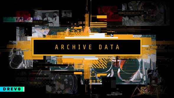 Archive Data/ Science Opener Diaporama numérique/ Cosmos/ Astronautes/Timeline/ Histoire/ Glitch Promo