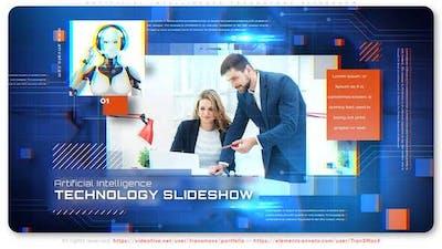 Artificial Intelligence Technology Slideshow