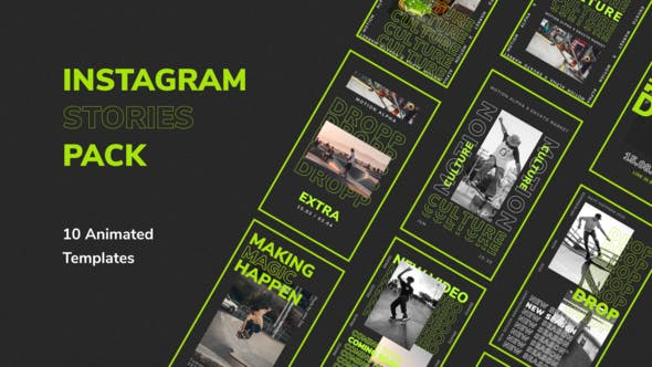Thumbnail for Instagram Stories For Premiere Pro