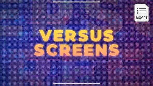 Thumbnail for Versus Écrans - MOGRT