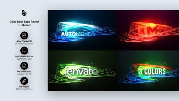 Thumbnail for Revelar Logo de líneas
