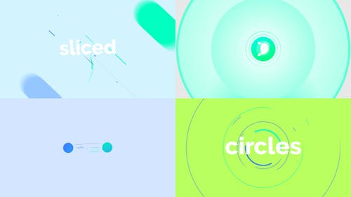 Circle Slice Logo Reveal