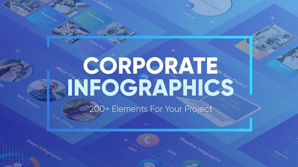 Thumbnail for Corporate Infographics
