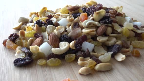 Thumbnail for Falling Dried Fruits Healthy Food