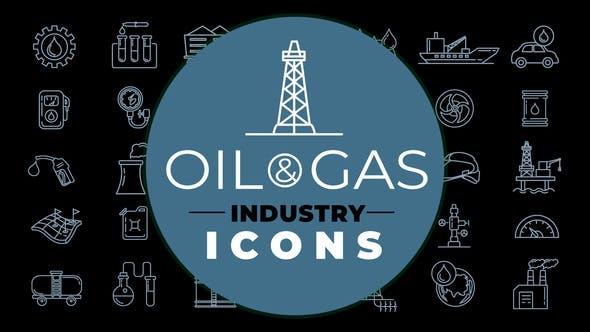 Thumbnail for Icones du secteur pétrolier et gazier