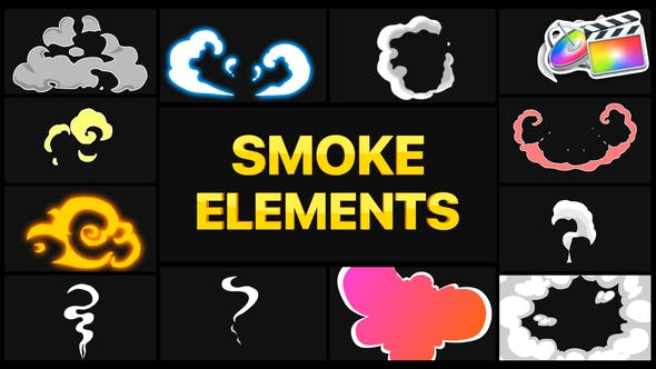 Thumbnail for Smoke Elements | FCPX