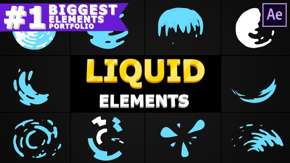 Thumbnail for Liquid Circles   After Effects