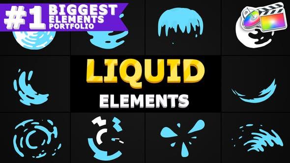 Thumbnail for Liquid Circles   FCPX