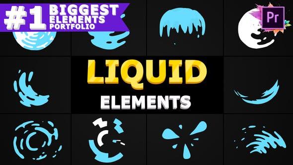 Thumbnail for Liquid Circles   Premiere Pro MOGRT