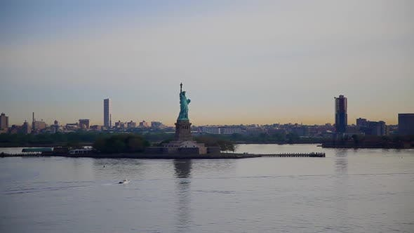 Thumbnail for Statue Of Liberty in The Mornig at New York 01