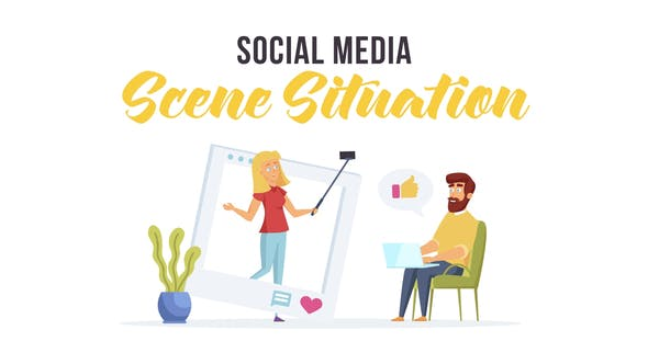 Thumbnail for Social media - Scene Situation