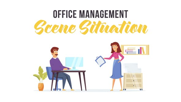 Thumbnail for Office management - Scene Situation