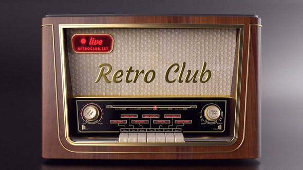 Thumbnail for The Retro Radio - Abridor de títulos