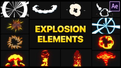 Explosion Elements   After Effects
