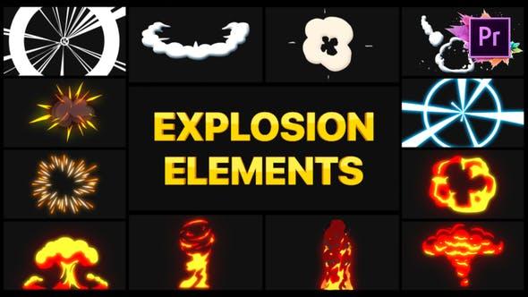 Thumbnail for Explosion Elements | Premiere Pro MOGRT