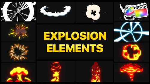 Explosion Elements | FCPX