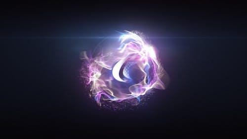Quick Particle Sphere Logo 2